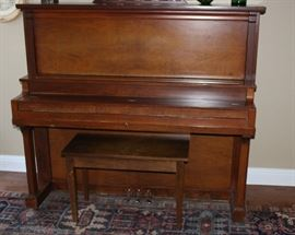 Very old Cable Piano, made in 1924.