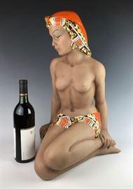 Large Torino Porcelain Nude