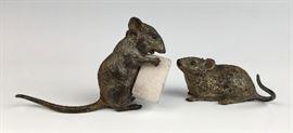Sgd. Bergman Vienna Bronze Mice