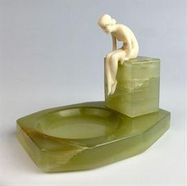 After Priess Art Deco Nude Figure