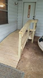 New handicap accessible walkway  to home needs to be sold built in December