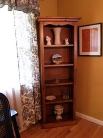 Pine bookshelf.  Asking $200