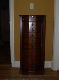 Jewelry armoire.  $30