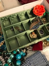 Large Costume Jewelry Collection