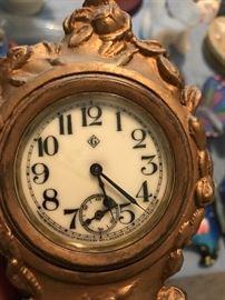 Nice Brass Gilbert Clock
