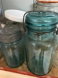 Old and New Canning Jars