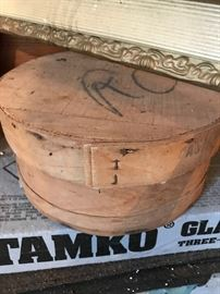 Old Cheese Boxes