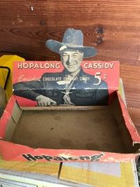 Hopalong Cassidy Candy Box- Very Cool