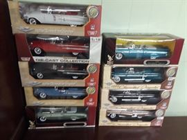 APPROX, 80 METAL DIECAST CAR,S IN ORIGINAL BOXE,S