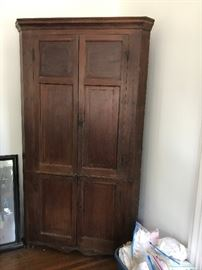 18th Century corner cupboard - great family history