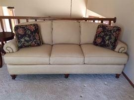 Cream Colored Couch.