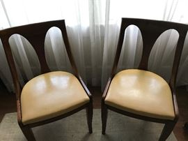 2 of 4 Kindel Italian Provincial chairs