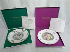 2 Royal Doulton Holiday Plates https://ctbids.com/#!/description/share/20519