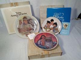 3 Misc. Native American Plates  https://ctbids.com/#!/description/share/20520