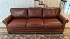 Nichols & Stone Leather Sofa