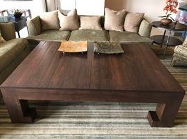 Custom Coffe Table, 12 x 15 Carpet