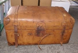Leather Antique Trunk