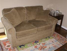 Cloth Love Seat Sofa By Lazy Boy