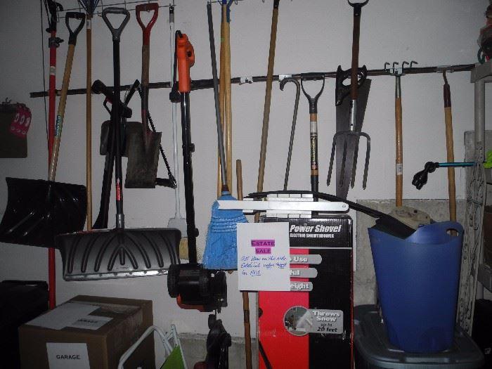 Outdoor tools, etc.