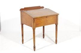 19th C. Schoolmasters Desk