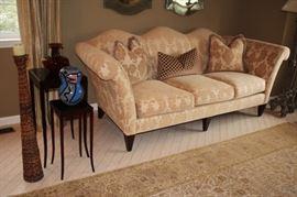 Donghia San Marco Living Room Sofa, Rug and Decorative