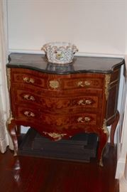 Marble Topped Cabinet with Ormolu