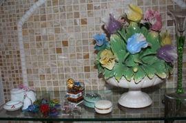 Decorative Floral with Bric-A-Brac