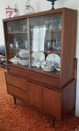 Mid Century Modern china cabinet