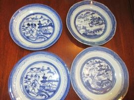 Antique Canton china