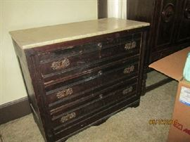 ANTIQUE  WALNUT CHEST