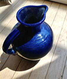 Fiesta Cobalt Blue Pitcher
