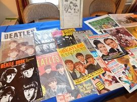 Large selection of vintage magazines.
