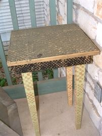 nice decorative outdoor table