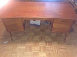 Large MCM desk by Svend Madsen