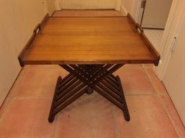 Really cool Drexel folding table (2 pieces)
