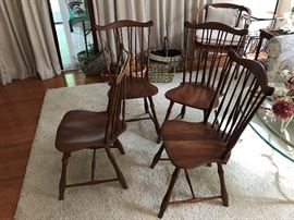 Pennsylvania House Chairs  Fan  Back with Windsor brace