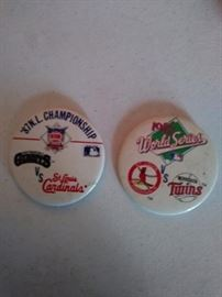 Cardinal World series pins