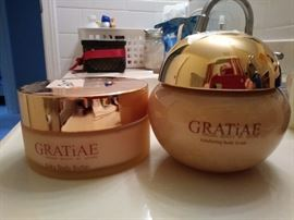Gratiae body scrub and body butter - very expensive retail, now at a discount!