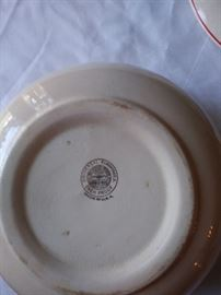 Universal Cambridge covered bowls