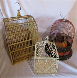 More Vintage Bird Cages