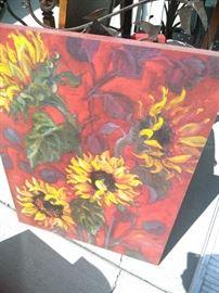 Canvas art work