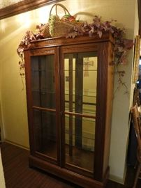 Beautiful China Cabinet-Display Case
