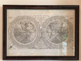 Antique 18th Century Map