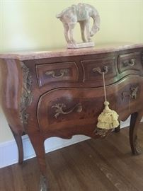 French chest with Marble top - excellent condition