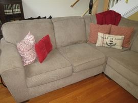 SECTIONAL SOFA IS AVAILABLE FOR EARLY SALE.  $350.00.  919-417-1950.  CALL ME.