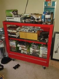 videos,  items inside or on top are not for sale