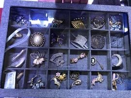 Vintage Costume jewelry more pins