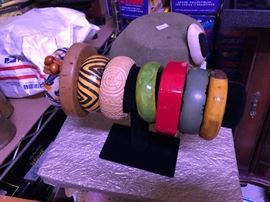 Bakelite Vintage Costume jewelry