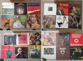 Vinyl record albums - LPs and singles