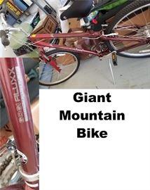 Bike - Giant Mountain Bike 6061 Aluxx
